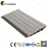 La madera de alta resistencia compuesto de plástico que cubre el panel de pared