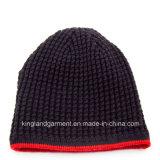 Шлем 100% акриловый связанный с Striped Brim