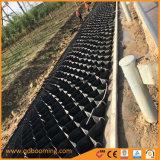 De HDPE Barreiras geossintéticas 75mm Geogrid soldadura por ultra-som