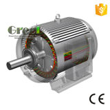 40kw 300 rpm 350 rpm rpm baixa 3 Fase AC alternador sem escovas, gerador de Íman Permanente, Alta Eficiência Dínamo, Aerogenerator Magnético