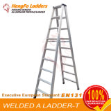 9 Steps Welding Step Ladder Aluminum Ladder