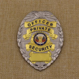 Kenteken van de Speld van de Revers van het Metaal van het Kenteken van de Politie van het Email van de douane het Zachte