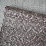 正方形の質の壁ペーパー革ホーム室内装飾PVC革