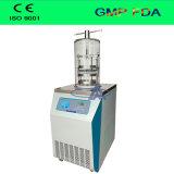 Essiccatore di gelata verticale di vuoto del laboratorio della presa di fabbrica/piccolo liofilizzatore