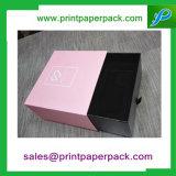 Contenitore di regalo impaccante stampato abitudine del cassetto di lusso del cartone