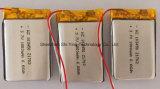 Bateria recarregável do bloco da bateria de lítio do polímero da bateria 3.7V 1800mAh de Lipo