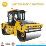 중국 도로 쓰레기 압축 분쇄기 공장 12 톤 두 배 드럼 도로 쓰레기 압축 분쇄기
