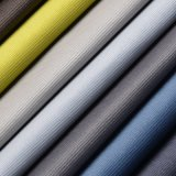 Il cuoio gradice il tessuto del sofà del poliestere della tappezzeria