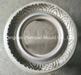 120/80-17 proceso duradero del moldeado del neumático de la motocicleta