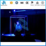 Braguero al aire libre de la visualización de LED del braguero de la pantalla del LED con el sistema de elevación