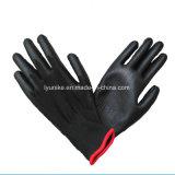 Защита от электростатических разрядов PU Flex вещевым ящиком/PU покрытием вязаные рукавицы