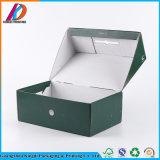 Зеленый цвет матовое ламинирование коробку из гофрированного картона для обуви