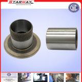 Kundenspezifischer Präzisions-Stutzen-Stahlmetallverbindungs-Platten-Beleg auf rostfreiem Schweißen des Flansch-(Vorhang, Legierung)