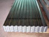 Lamiera di acciaio ondulata rivestita galvanizzata dello zinco del TUFFO caldo