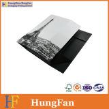 Rectángulo de regalo de empaquetado plegable de la joyería de la cartulina de papel