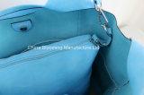 Hombro Messenger Shopping Bag bolsa interior de Dama PU bolso