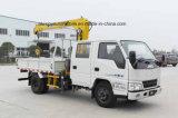 4*2 Jmcはクレーンによってトラック3トンの乗組員のタクシーの取付けた
