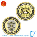 Pièces de monnaie commémoratives du logo 3D de constructeur de souvenir d'or en métal d'enjeu de pièce d'argent d'antiquité de marine de bord militaire en alliage de zinc fait sur commande de diamant pour le cadeau promotionnel