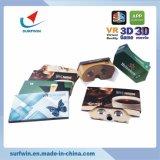 Cartone bollato di Google degli occhiali di protezione di Vr 3.0 vetri pieghevoli di Vr per la versione 3.0