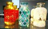 Универсальная стеклянная ваза с видами картины для украшения