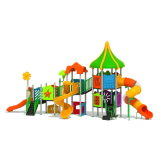 Parque Infantil exterior de plástico para crianças e crianças (JYG-15014)