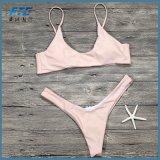 Reizvoller Mikrobikini plus Größen-Badebekleidungs-Frauen-Badeanzug-weibliche Strand-Abnützung