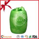 Grünes festes geprägtes Farbband-Ei für Hochzeits-Geschenk