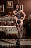 Оптовая торговля высокая эластичность Sexy Женское нижнее бельё Bodystocking BS8856