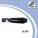 2*800W amplificador de potencia de 2U de Bass