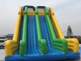 Inflable gigante inflable tobogán de agua para el verano caliente de Venta