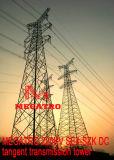 Torre da transmissão do Tangent da C.C. de Megatro 220kv Se4-Szk