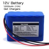 Li Ion Battery 11.1V 10000mAh voor Street Light