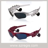 Esportes Digital óculos polarizados Fone de ouvido auricular Bluetooth estéreo