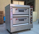 Zwei Plattform-elektrischer Backen-Ofen/Toast-Ofen-/Bäckerei-Brot-Ofen