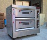 Horno eléctrico de la plataforma de dos/tostadas de pan de panadería horno/microondas