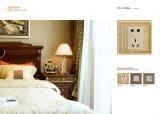 Interruttore chiaro della villa d'ottone con il coperchio d'ottone forgiato
