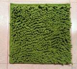 Microfiberのシュニールのスリップ防止浴室の床のマット