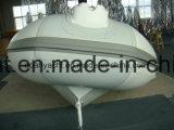 Barco inflável do reforço de alumínio luxuoso novo de Hypalon do projeto para a venda