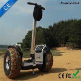 2400W geborstelde Motor met van het LEIDENE van het Handvat Autoped de Lichte off-Road Saldo van de Autoped Elektrische Zelf
