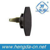 Cabinet Door L Handle Lock Cabinet Door Locks (YH9677)