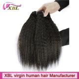 Kinky человеческие волосы Monglian девственницы Weave прямых волос