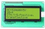 セグメントLCDパネルが付いているTN LCDの表示画面