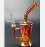 Wein-Rot-Glaspfeife des Filter-Wiederanlauf-Wasser-Rohres