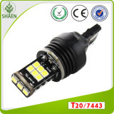 Lampadina calda T20 7443 dell'automobile LED di vendita 15SMD 3535chip