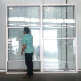 Der amerikanische Aluminium Art-thermische Bruch sondern gehangenes Fenster-ultra großes schiebendes Schärpe-Fenster aus