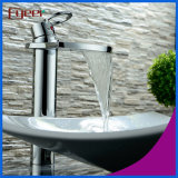 Fyeer barato Brass Big Spout Bathroom Waterfall Basin Faucet