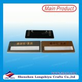 Distintivo di nome riutilizzabile magnetico di plastica