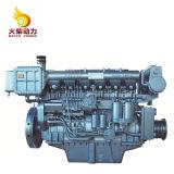 Nivel bajo de combustible del motor Weichai barco con 520CV motor diesel marino