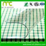 فينيل فسحة/شفافيّة صفح يستعمل لأنّ نافذة/حماية/طاولة تغطية وغطاء