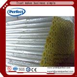 Section de pipe de laines de verre avec le clinquant FSK d'alun